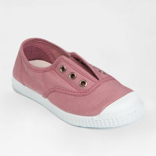 Hampton 'Plum' Rosa Canvas Shoes