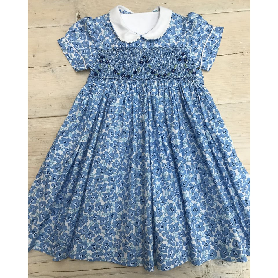 Little Alice London Periwinkle Dress as seen on Princess Charlotte