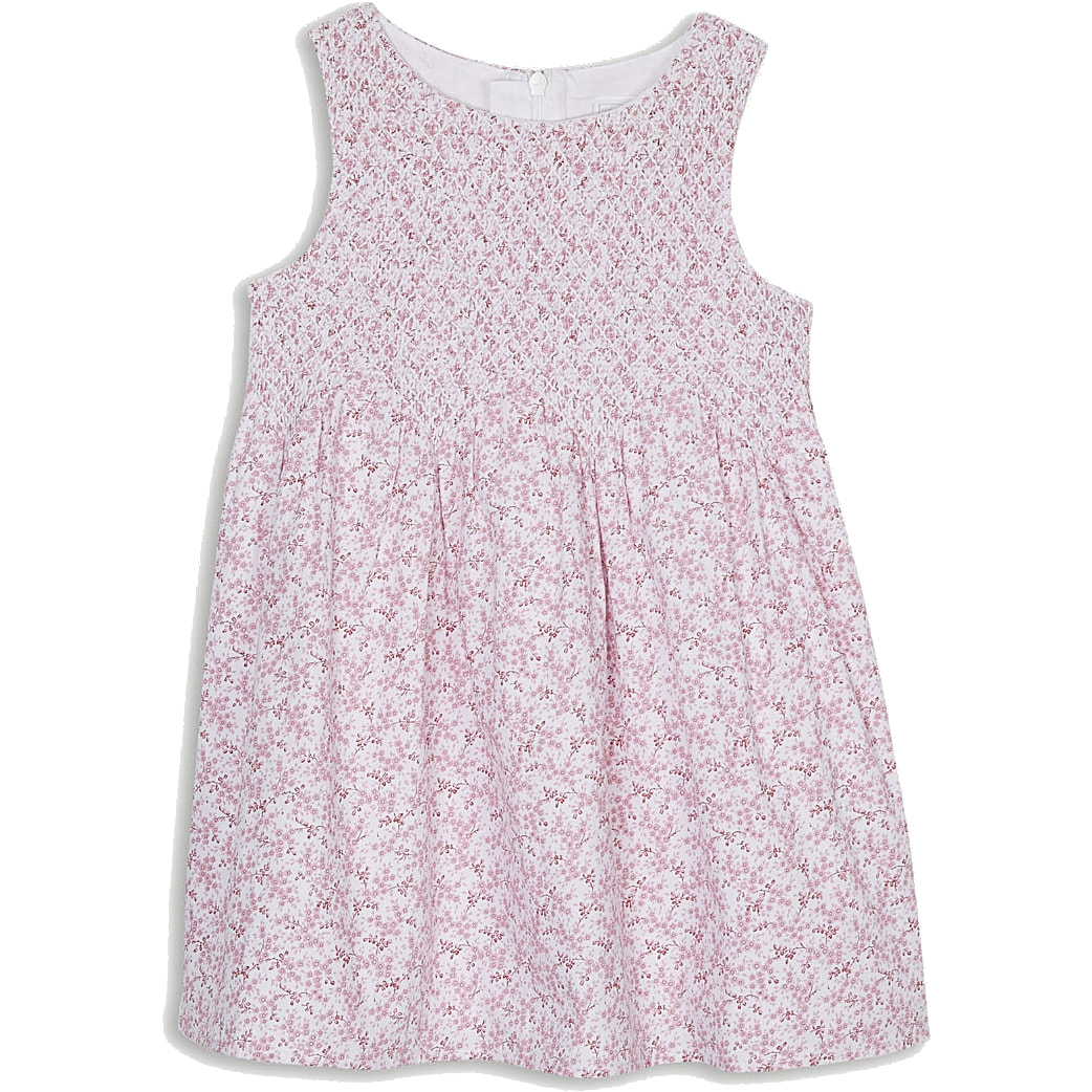 The Little White Company Amelia floral print cotton dress