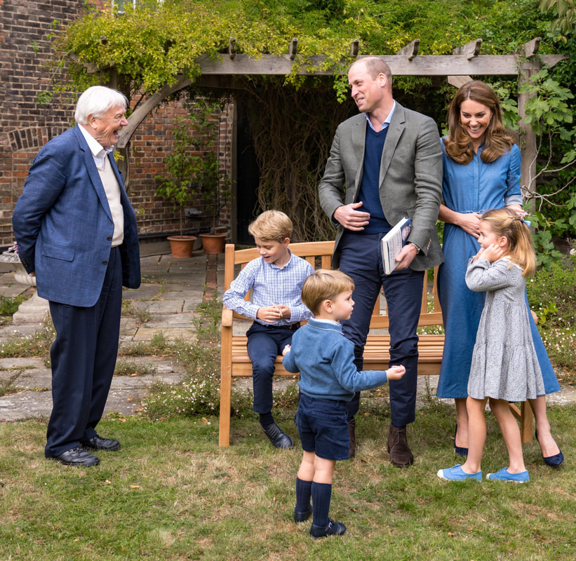 Prince George, Princess Charlotte and Prince Louis are exited to meet Sir David Attenborough